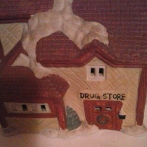 Other - 1994 Collection Vintage Christmas Village Drug Sto